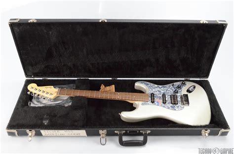 2006 fender american deluxe stratocaster hss w inca silver strat 31020 ebay