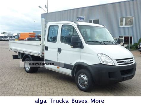 Iveco Daily 35 C 15 Dk 3-way Tipper Crew Cab 2008 Three