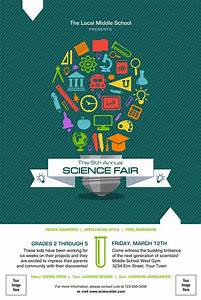 School Roll Template Science Fair Poster
