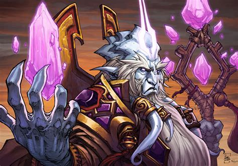 Prophet Velen Deck Frozen Throne by Velen Wowwiki Fandom Powered By Wikia