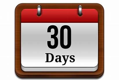 Days Clipart Calendar Until Thirty Photographer Transparent