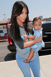 Kim Kardashian shows off baby North's adorable new slick ...