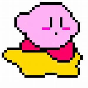 Pixel Kirby by Zorathar24 on deviantART