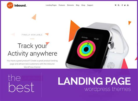Best Landing Pages 2017 Best Landing Page Themes 2017 Lyrathemes
