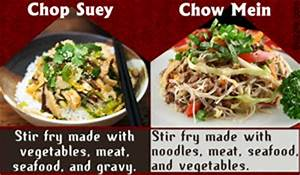 [what is the difference between chow mein and lo mein ...