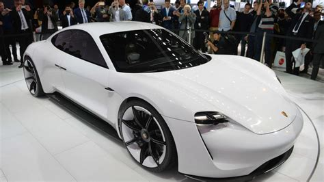 porsche tesla price porsche mission e will arrive in 2019 with a price tag