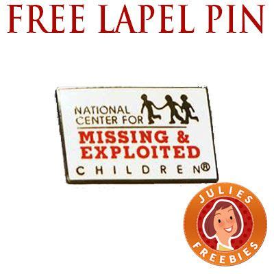 5% off (27 days ago) the san francisco bay coffee coupon code is a code that is made up of letters or numbers that consumers can get the promotion box on a site's shopping cart checkout page. Free NCMEC Lapel Pin - Julie's Freebies   Missing and exploited children, Lapel pins, Free stuff ...