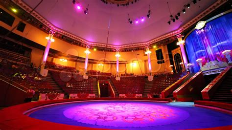 Car Wallpapers Free Psd Viewer by Interior Of Circus With Empty Arena Before Performance