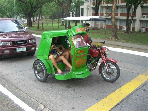 philippine motorcycle taxi tricycle philippine taxi return to the philippines