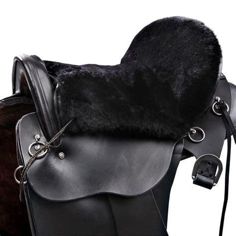 saddle sheepskin western endurance cushion jms std riding ridingwarehouse warehouse