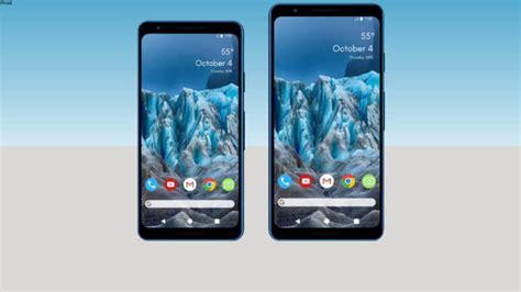 pixel 3 3 xl 183 smartphone concept 3d warehouse