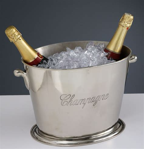 champagnekylare oval