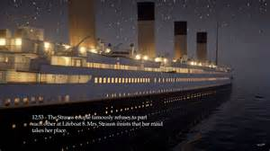 game developer releases real time simulation of titanic 39 s final hours extremetech