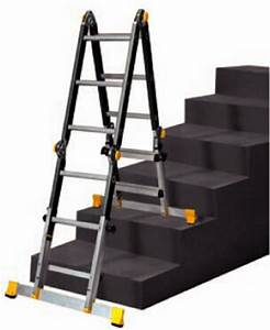 Echelle Pour Escalier : echelle pour escalier aluminium multi fonctions ~ Melissatoandfro.com Idées de Décoration
