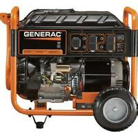 Generac GP7000E Generator 8750 Watts electric start tri