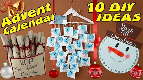 diy advent calendar idea   youtube
