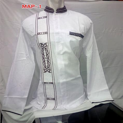 Baju Koko Muslim Pria Jsk 03 baju muslim trendy pria baju muslim