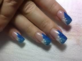 Nail art style on women