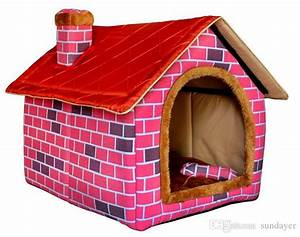 2017 warm in winter big dog39s house indoor dog cat soft for Soft indoor dog house large