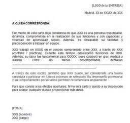 Spanish Recommendation Letter