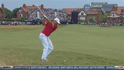Sergio Garcia Holes Out For Eagle On Second Hole At ...