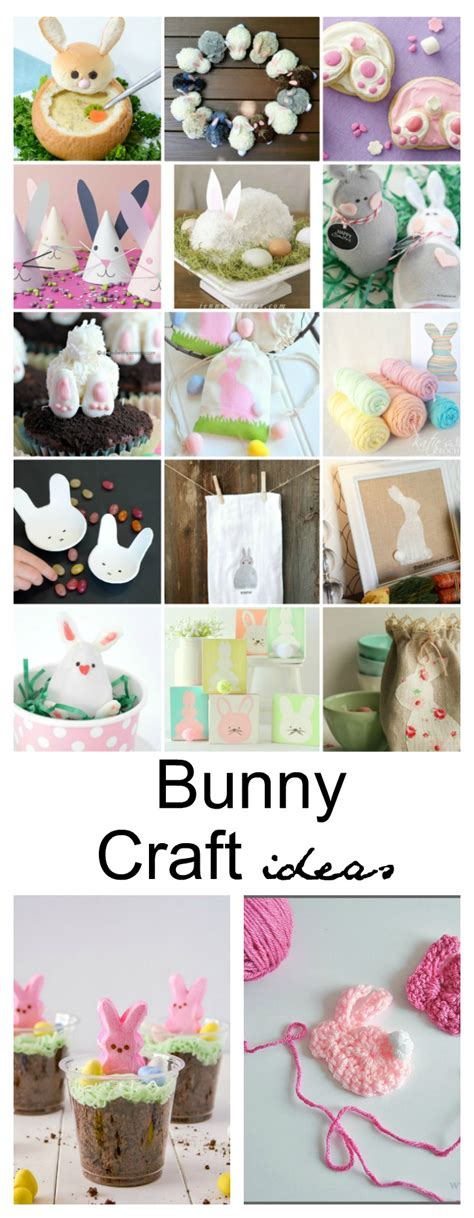 Easter Bunny Crafts, Activities And Treat Ideas  The Idea Room