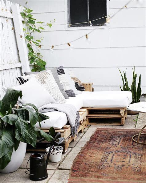 Mini Lounge Balkon by Outdoor Lounge M 246 Bel Aus Europaletten Repinned By
