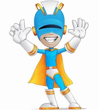 Superhero Character Vector Hero Super Characters Clipart