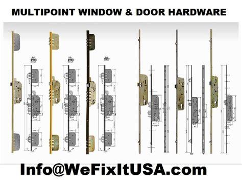 multipoint hardware parts active door inactive door mortise locks shoot bolt truth