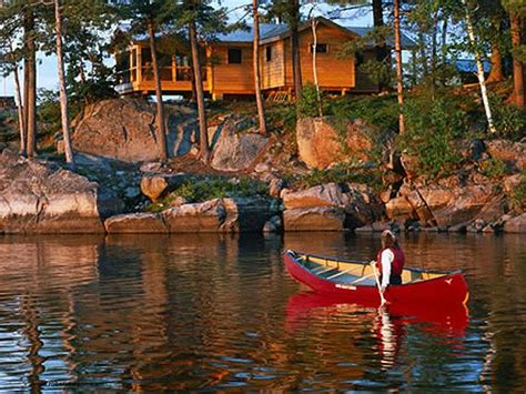 luxury ontario resorts french river cottage rentals