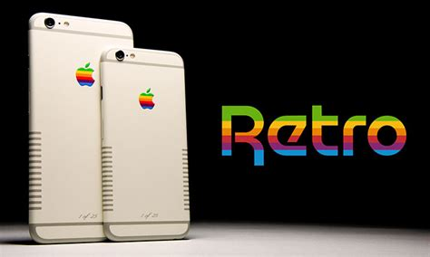 retro phone for iphone meet the iphone 6 retro inspired by the apple iie
