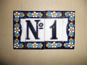 Address house tiles numbers and letters www for Tile house numbers and letters