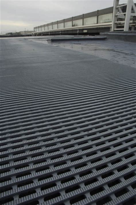 Roof Mats - roof walkway matting the rubber company