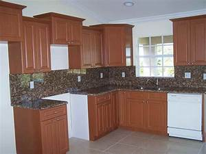 Kitchen brown painted cabinets for decorating kitchen for Brown kitchen cabinets