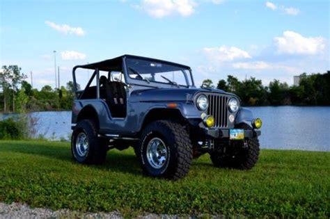 jeep kaiser cj5 sell used 1971 kaiser jeep cj5 full restoration custom