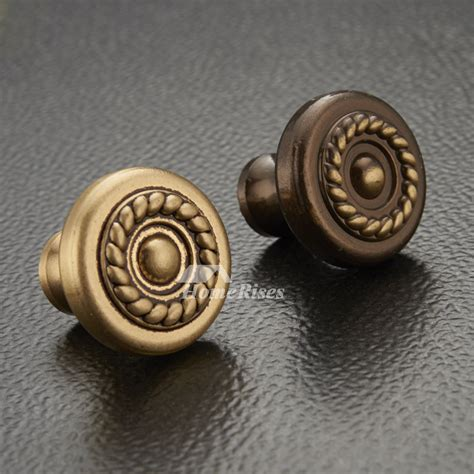 brass cabinet knobs carved antique brassrose gold closet