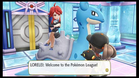 Pokemon Lets Go Lorelei Guide How To Defeat Lorelei Of