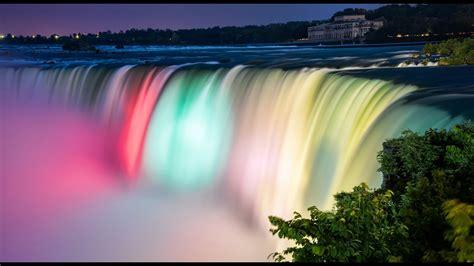 niagara falls illumination youtube