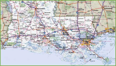 southern towns louisinia map 100 more photos
