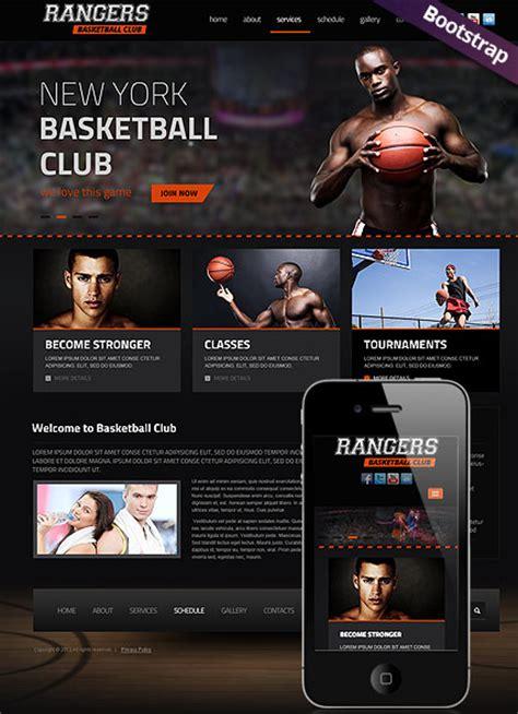 basketball html website template  website templates