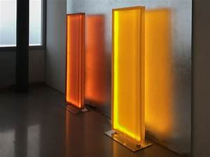 Divisorio / Lampada da terra a LED Divisorio / Lampada da