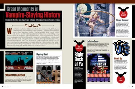 Nintendo Power June 2012 scans - Castlevania, The Last ...