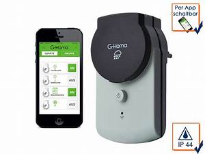 Steckdose Per App Steuern : g homa outdoor steckdose handy steuerung per app steckdosen fernbedienung ebay ~ Orissabook.com Haus und Dekorationen