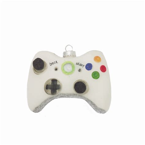 Christmas By Krebs Krebs Collectible White Game Controller