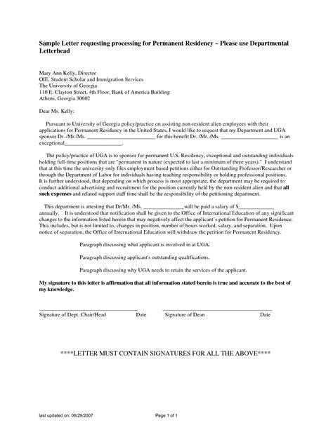 sle cover letter for permanent residence application 28