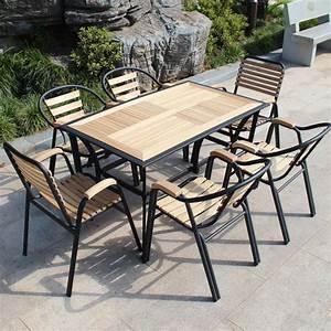 Table Jardin Fer Forgé : best table de jardin bois et fer forge contemporary ~ Dailycaller-alerts.com Idées de Décoration