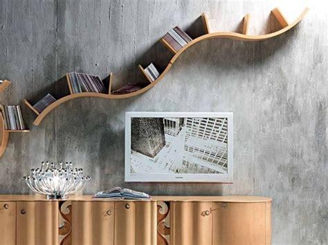 mensole ondulate mensola in legno mensola carpanelli contemporary