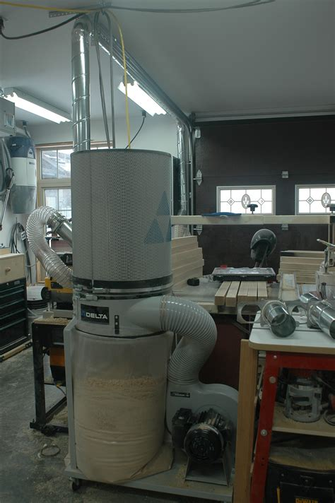 workshop dust collection   choose  install
