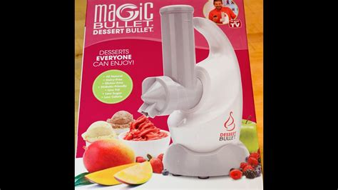 See more ideas about dessert bullet recipes, dessert bullet, recipes. Unboxing- The Magic Bullet Dessert Bullet - YouTube