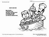 Preschool Rhymes Nursery Themes sketch template